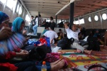 This was out boat back to Jakarta.  We sat on prayer mats with no air conditioning.