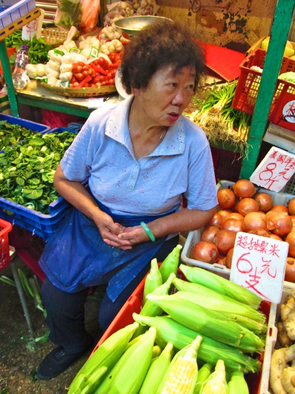 "I love fiesty market women!  This one wanted to know why I was taking her picture.  I said, ""You're beautiful""  Then she replied, ""Oh.  Ok""  Photo by Diana O'Gilvie"