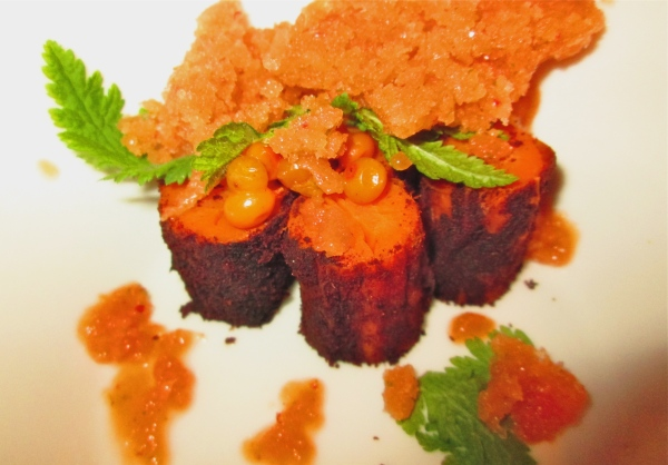 Cinnamon roasted carrots.  Photo by Diana O'Gilvie