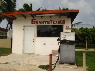 Old gas station in Blue Hills.  Photo by: Diana O'Gilvie